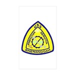 USS Shenandoah (AD 26) Rectangle Sticker 50 pk)