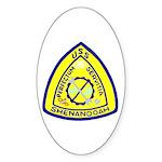 USS Shenandoah (AD 26) Oval Sticker (50 pk)