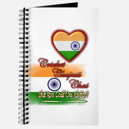 Cricket, chapati, chai - Journal