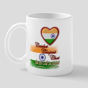 Cricket, chapati, chai - Mug