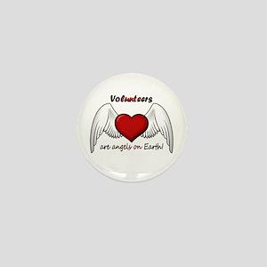 Angel Volunteer Mini Button