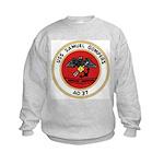 USS Samuel Gompers (AD 37) Kids Sweatshirt