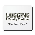 Family Tradition Mousepad