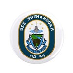"USS Shenandoah (AD 44) 3.5"" Button (100 pack)"