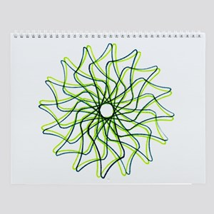 Spirograph Wall Calendar