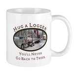 Hug a Logger - Kenworth Mug