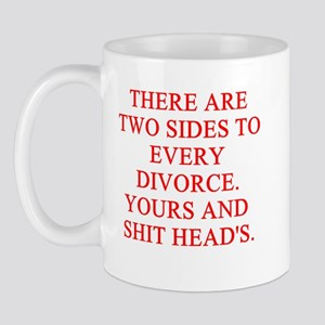 divorce joke Mug