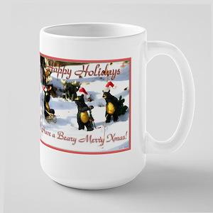 Bears Christmas Large Mug