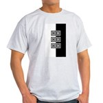 Black & White Ash Grey T-Shirt