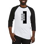 Black & White Baseball Jersey