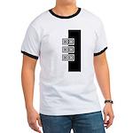 Black & White Ringer T