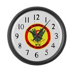 USS Rainer (AE 5) Large Wall Clock