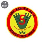 """USS Rainer (AE 5) 3.5"""" Button (10 pack)"""