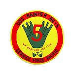 "USS Rainer (AE 5) 3.5"" Button"
