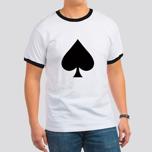 Ace Of Clubs Ringer T