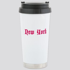 new york city! Stainless Steel Travel Mug