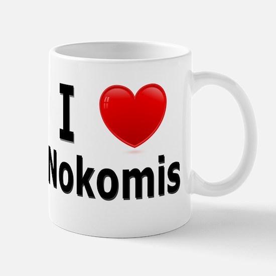 I Love Nokomis Mug