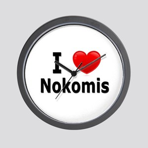I Love Nokomis Wall Clock