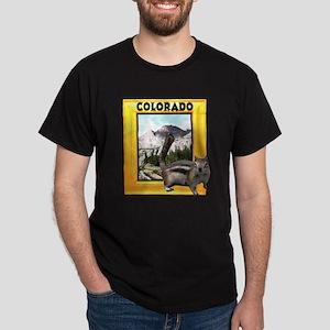 Squirrel in Colorado RMNP Dark T-Shirt