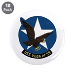 """USS Vega (AF 59) 3.5"""" Button (10 pack)"""