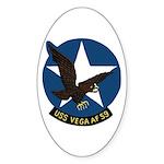 USS Vega (AF 59) Oval Sticker (50 pk)