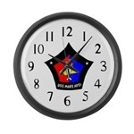USS Mars (AFS 1) Large Wall Clock