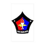 USS Mars (AFS 1) Rectangle Sticker 50 pk)
