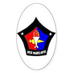 USS Mars (AFS 1) Oval Sticker (50 pk)
