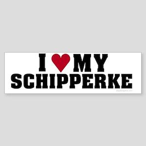 I Love My Schipperke