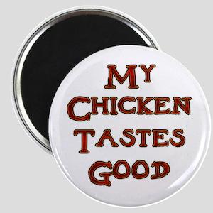 Contentment Chicken Magnet