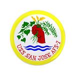 "USS San Jose (AFS 7) 3.5"" Button"