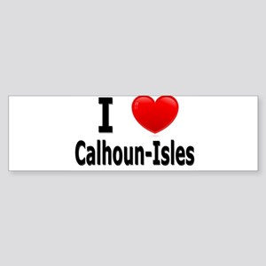 I Love Calhoun-Isles Bumper Sticker