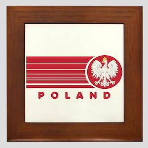 Poland Sunset Framed Tile