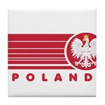 Poland Sunset Tile Coaster