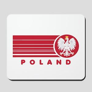 Poland Sunset Mousepad