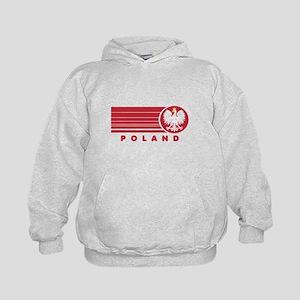 Poland Sunset Kids Hoodie