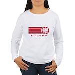 Poland Sunset Women's Long Sleeve T-Shirt