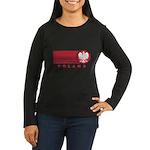 Poland Sunset Women's Long Sleeve Dark T-Shirt