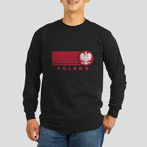 Poland Sunset Long Sleeve Dark T-Shirt