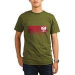 Poland Sunset Organic Men's T-Shirt (dark)