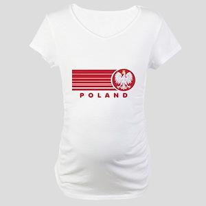Poland Sunset Maternity T-Shirt