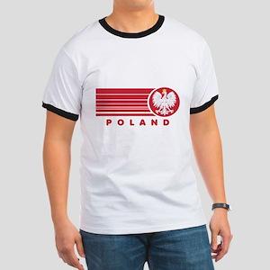 Poland Sunset Ringer T