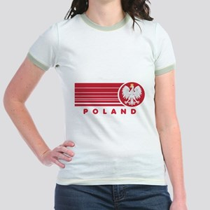 Poland Sunset Jr. Ringer T-Shirt