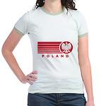 Poland Sunset Jr. Ringer T-Shirt
