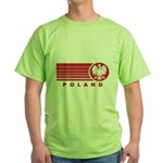 Poland Sunset Green T-Shirt