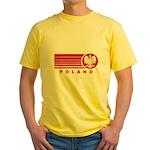 Poland Sunset Yellow T-Shirt