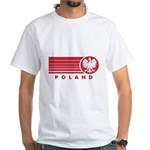 Poland Sunset White T-Shirt