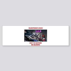 TOP FUEL BLOWN RACE CAR Bumper Sticker