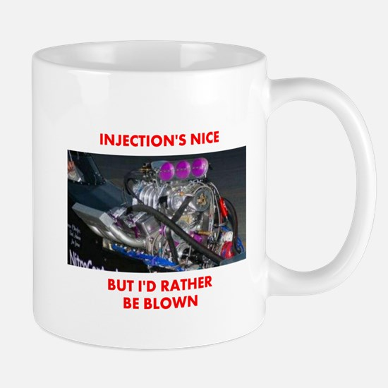 TOP FUEL BLOWN RACE CAR Mug