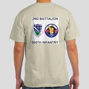 2-506th Infantry Iraqi Freedom Light T-Shirt